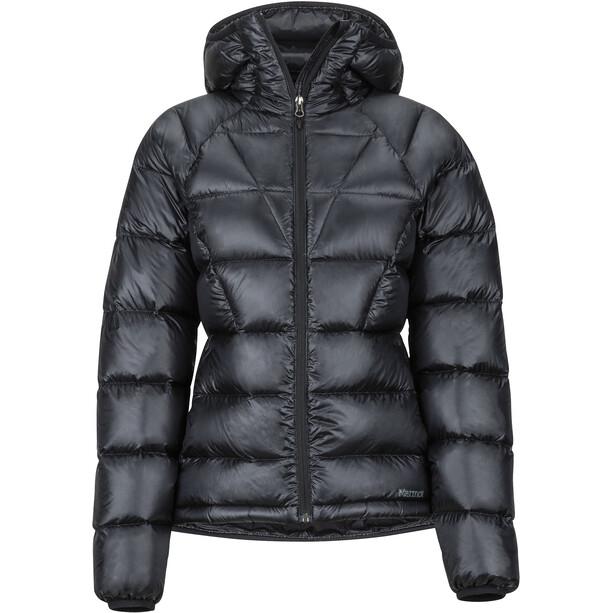 Marmot Hype Daunen Kapuzenjacke Damen black