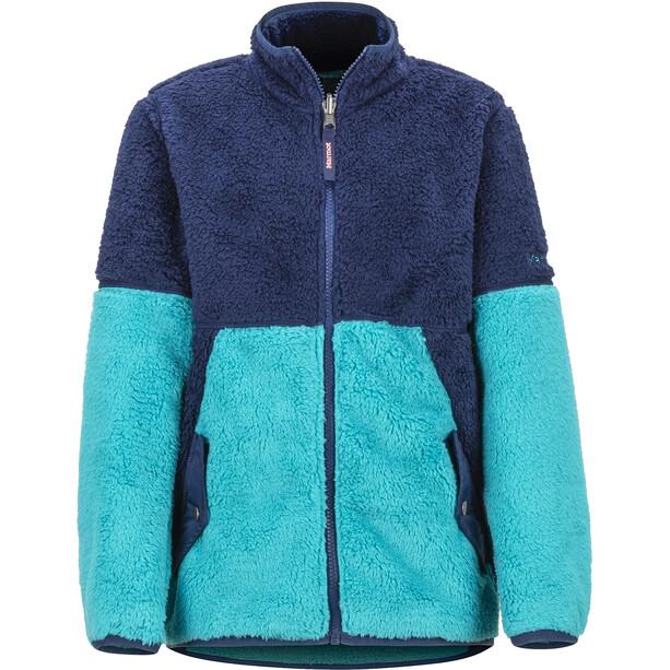 Marmot Lariat Fleecejacke Mädchen blau/türkis