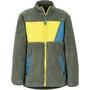 Marmot Roland Fleece Jacket Pojkar crocodile/citronelle