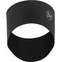 Buff 2 Layers Midweight Merino Wool Headband solid black