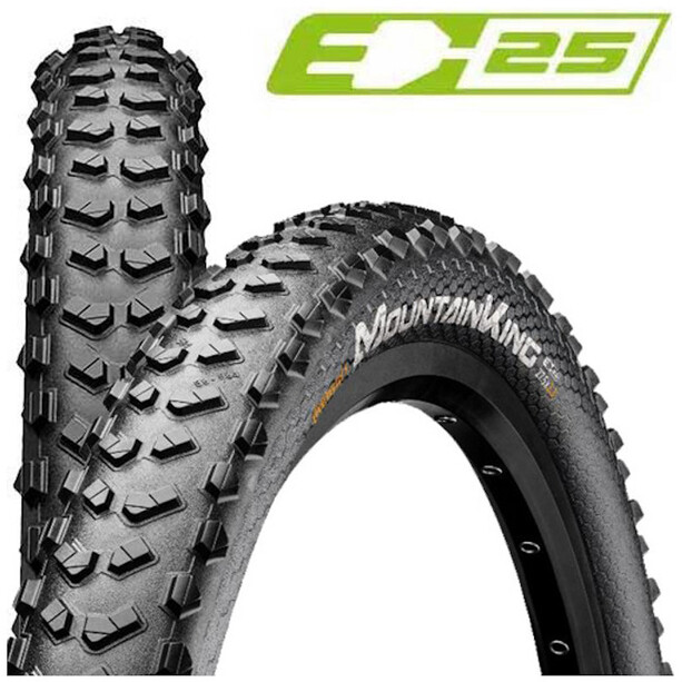"""Continental Mountain King 2.8 Performance Folding Tyre 27.5x2.75"""" TLR E-25, black"""