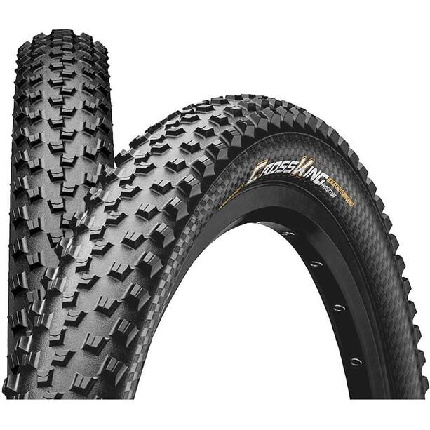 "Continental Cross King 2.6 Performance Folding Tyre 27.5x2.60"" TLR E-25 Svart"