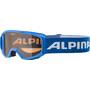 Alpina Piney Brille Kinder blue/orange