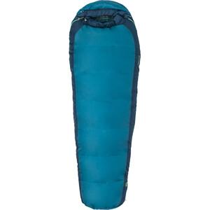 Marmot Trestles 30 Sac de couchage Normal Enfant, Bleu pétrole/bleu Bleu pétrole/bleu