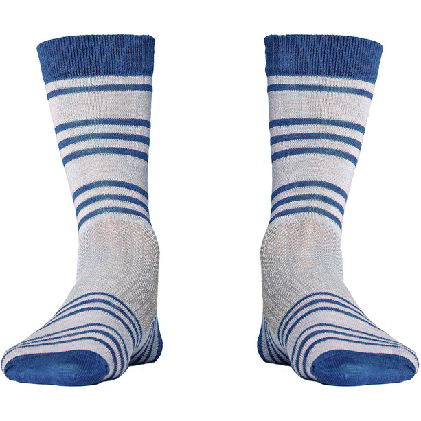 Röjk Everyday Merino Socks bilberry striped