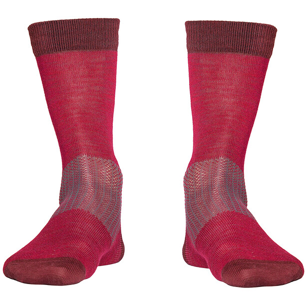 Röjk Everyday Merino Socks cranberry red