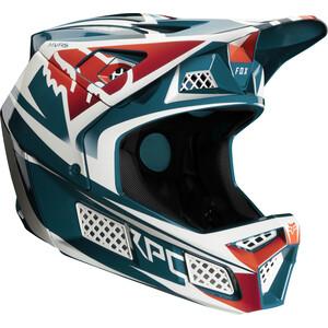 Fox Rampage Pro Carbon Beast Helmet maui blue maui blue