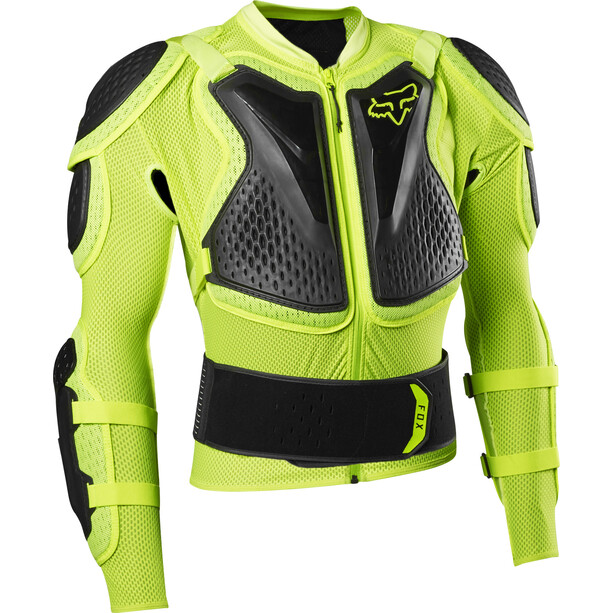 Fox Titan Sport Protektorenjacke Herren fluorescent yellow