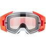 Fox Vue Dusc Brille fluorescent orange/clear