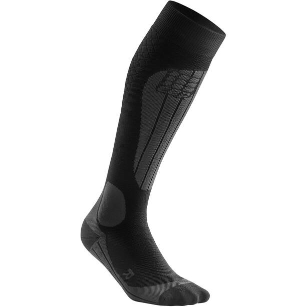 cep Thermo Ski Socken Herren schwarz/grau