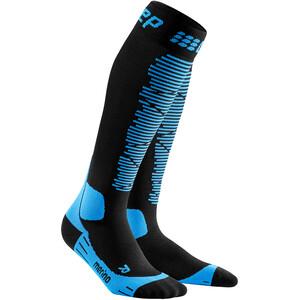 cep Ski Merino Socken Damen schwarz/blau schwarz/blau