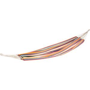 CAMPZ Hamac simple en coton, Multicolore Multicolore