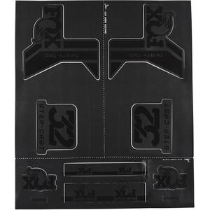 Fox Racing Shox AM Step-Cast Kit de Pegatinas, negro negro