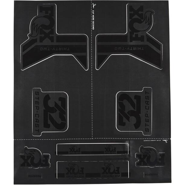Fox Racing Shox AM Step-Cast Aufkleber-Set schwarz