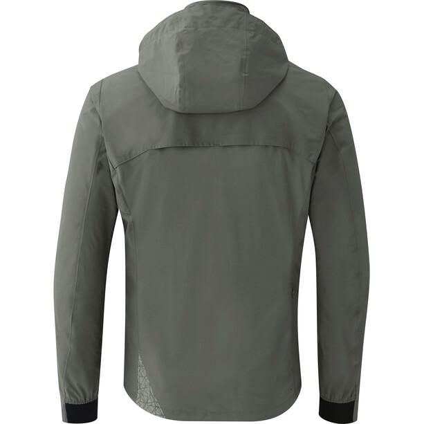 Shimano Transit Hardshell Jacke Herren gray