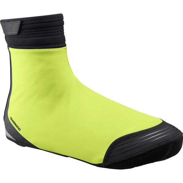 Shimano S1100X Soft Shell Shoes Cover neon yellow