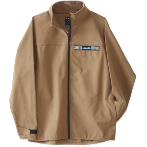 KAVU Throwshirt Full Zip Jacket Herr Heritage Khaki Heritage Khaki