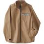 KAVU Throwshirt Full Zip Jacket Herr Heritage Khaki