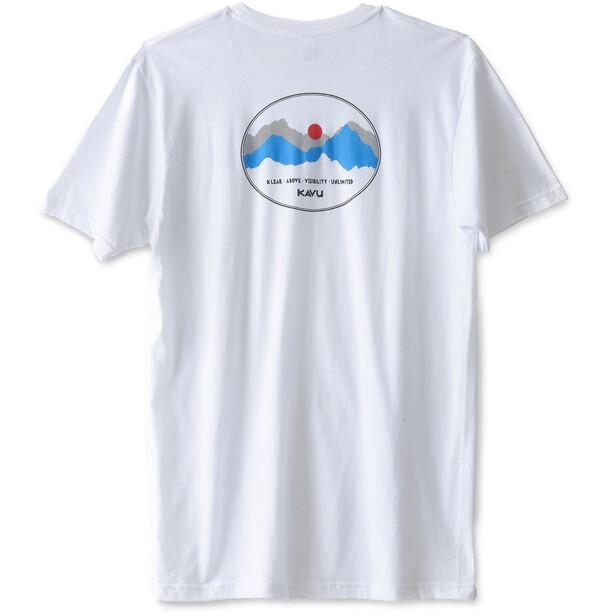 KAVU Define Range T-Shirt Herr white