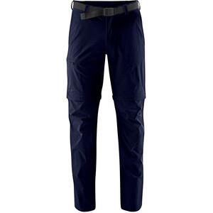 Maier Sports Tajo 2 Pantalon convertible avec fermeture éclair Homme, bleu bleu