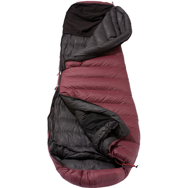 Y by Nordisk Sunrizer 600 Schlafsack S grey/red