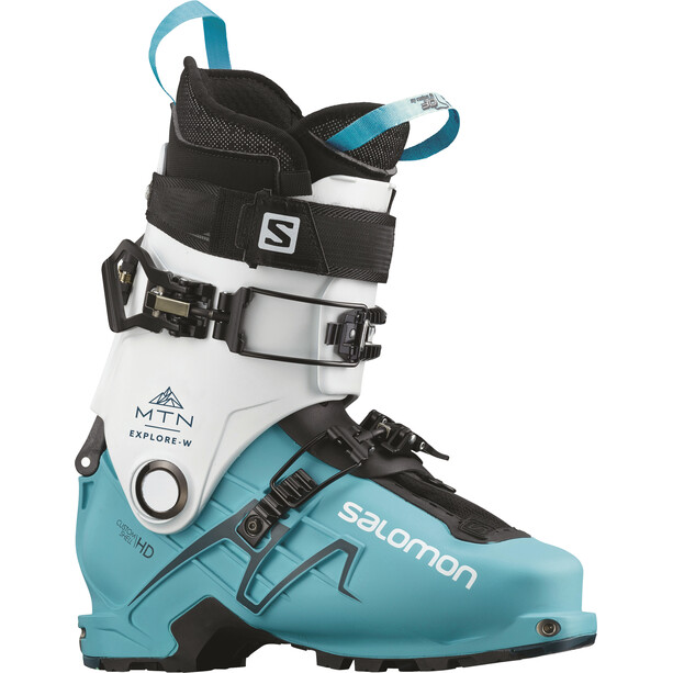 Salomon MTN Explr Ski Boots Women vit/Petrol