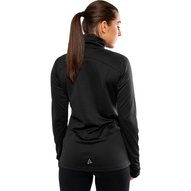 Craft Pin Halfzip Pullover Damen black