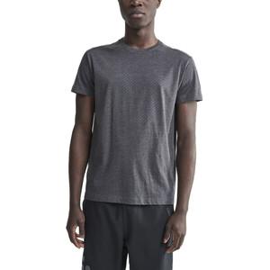 Craft Deft 2.0 Kurzarm T-Shirt Herren dark grey melange dark grey melange