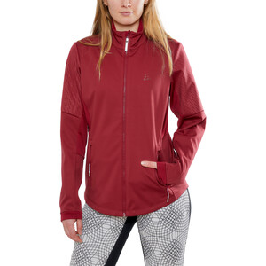 Craft Warm Train Jacke Damen rhubarb rhubarb