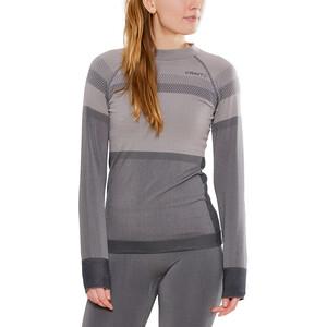 Craft Warm Intensity LS Rundhalsshirt Damen touch/asphalt touch/asphalt
