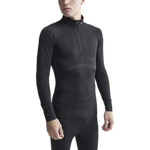 Craft Active Intensity Zip Shirt Herren black/asphalt black/asphalt