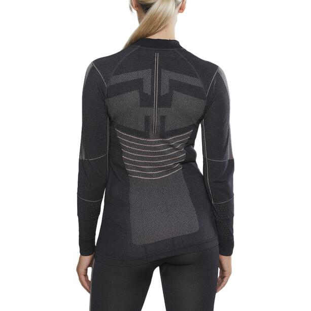 Craft Active Intensity LS Rundhalsshirt Damen asphalt/touch