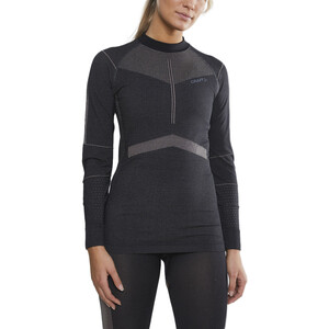 Craft Active Intensity LS Rundhalsshirt Damen asphalt/touch asphalt/touch
