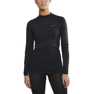 Craft Active Intensity LS Rundhalsshirt Damen black/asphalt black/asphalt