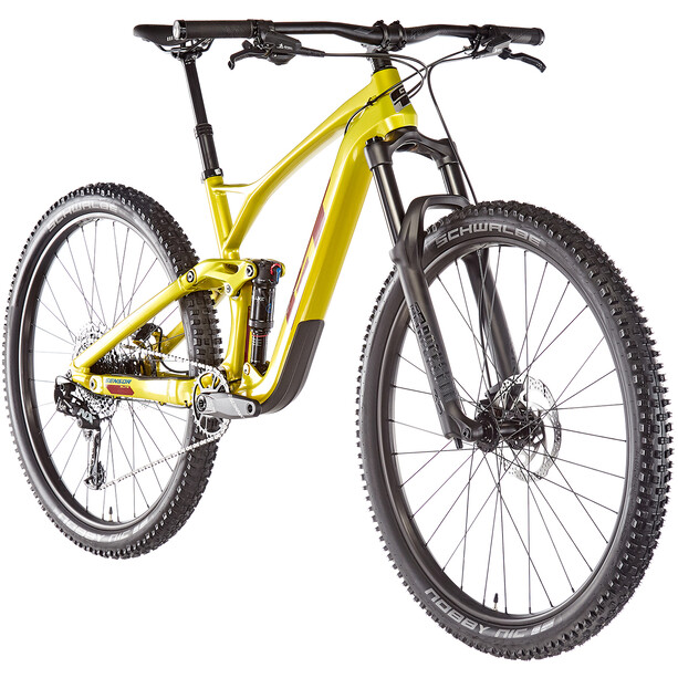 "GT Bicycles Sensor Carbon Elite 29"" gloss limegold"