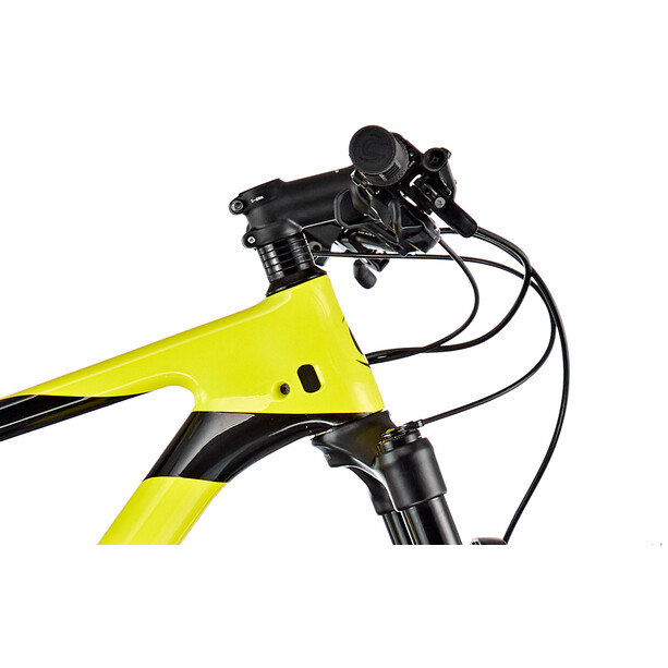 Cannondale F-Si Carbon 5 nuclear yellow