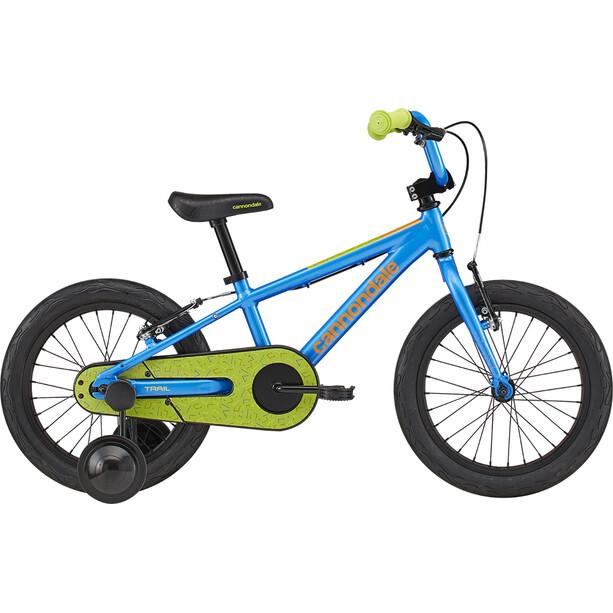 "Cannondale Trail Freewheel 16"" Jungen electric blue"