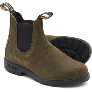 Blundstone 1615 Leather Boots, dark olive dark olive
