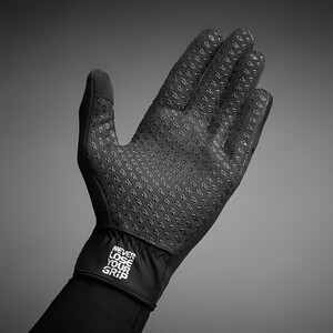 GripGrab Raptor Windproof Winterhandschuhe black black