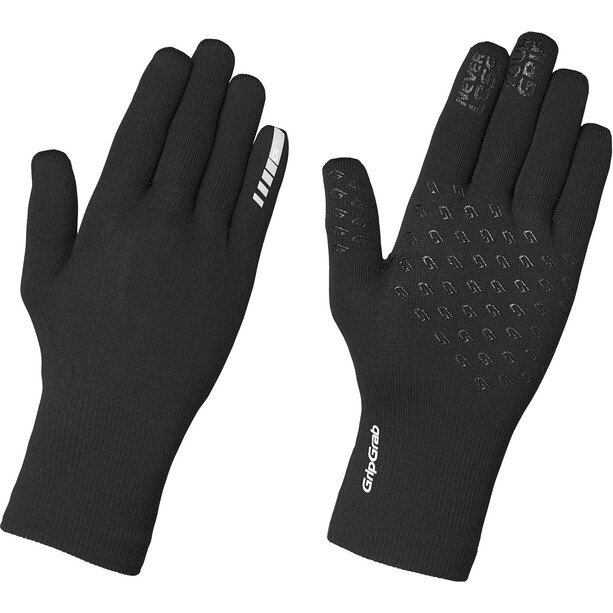 GripGrab Waterproof Thermo Strickhandschuhe black