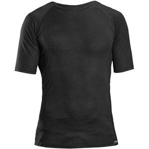 GripGrab Merino Polyfibre Short Sleeve Base Layer black black