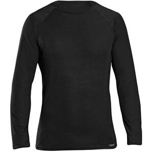 GripGrab Merino Polyfibre Long Sleeve Base Layer black black