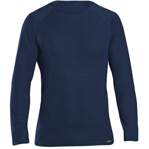 GripGrab Merino Polyfibre Long Sleeve Base Layer navy navy