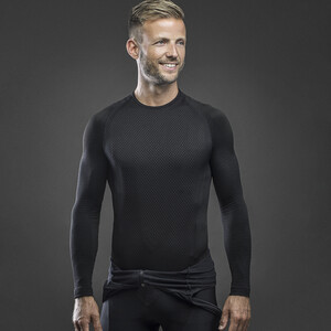GripGrab Expert Seamless Thermal Base Layer LS black black