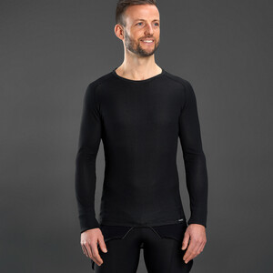 GripGrab Ride Thermal Long Sleeve Base Layer black black