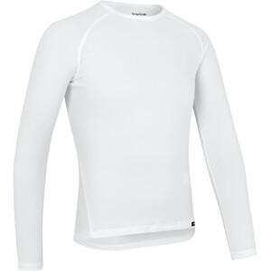 GripGrab Ride Couche de base manches longues thermiques, blanc blanc