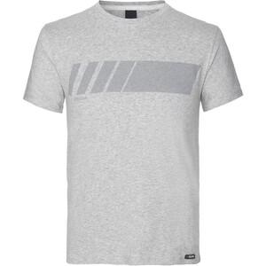 GripGrab Racing Stripe Organisch Katoen T-shirt, grijs grijs