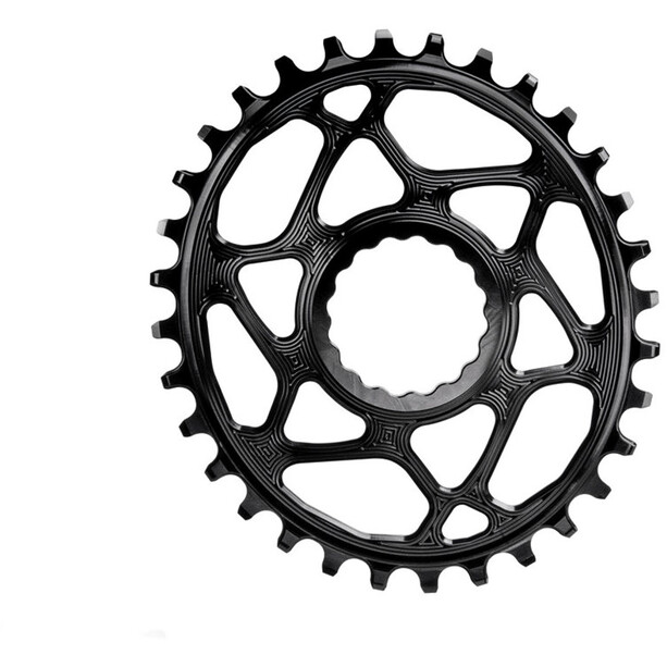 absoluteBLACK Oval Chainring for Race Face Cinch Spiderless black