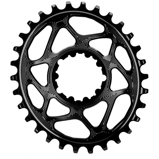 absoluteBLACK Oval Chainring for SRAM XX1 Spiderless black