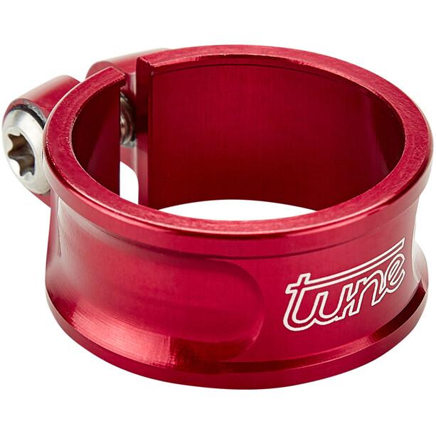 Tune Schraubwürger Seatpost Clamp Ø30mm red